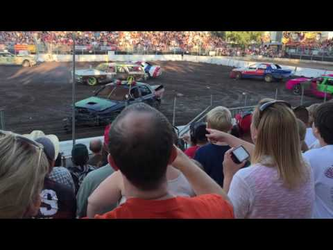 Alameda County Fair Demolition Derby (July 2nd, 2016)