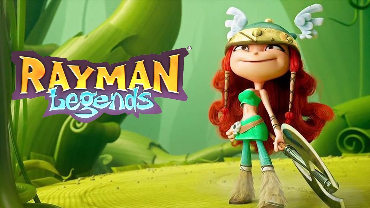 Minecraft 3d Live Wallpaper Rayman Legends Barbara A Viking Ousada Youtube