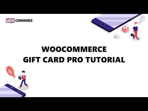 WooCommerce Gift Card Pro - How To Set Up WooCommerce Store To Sell Gift Cards?