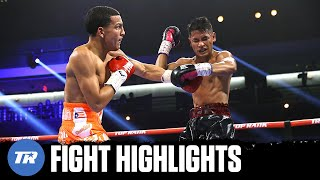Omar Rosario Returns to Action with Devastating KO of JJ Mariano   FIGHT HIGHLIGHTS