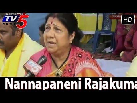 Nannapaneni Rajakumari Nirahara Deeksha for Samaikyandhra  -  TV5