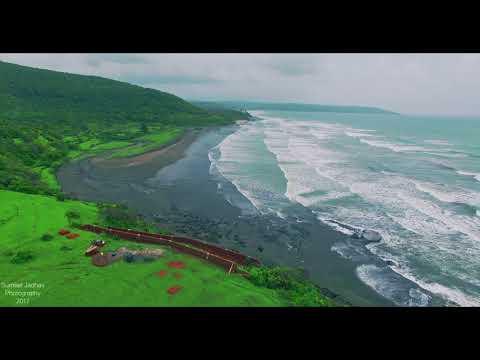 "Explore Konkan..!!! Drone shots ""Karde Beach"" Dapoli, Maharashtra"