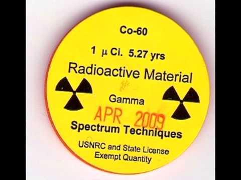 Radioisotope- Cobalt 60