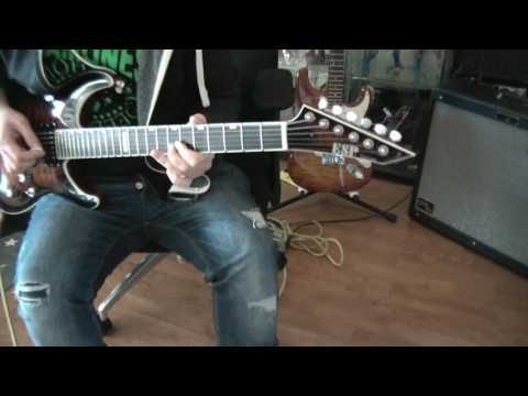 ESP Horizon NT. Fade to black - Metallica.