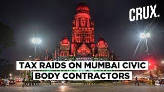 I-T Raids on 'Corrupt' BMC Civil Contractors Smack of Widening BJP-Sena Rift