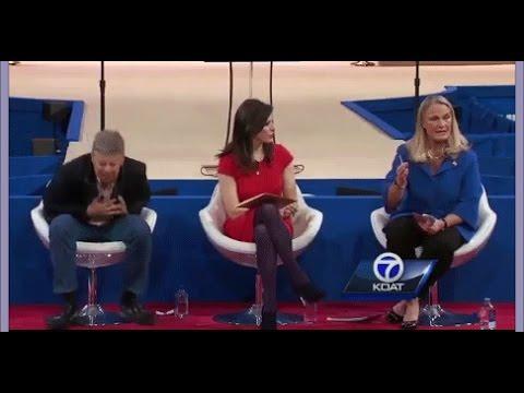 EPIC! Former Governor Gary Johnson Pulls Epic Stunt during Marijuana Debate!