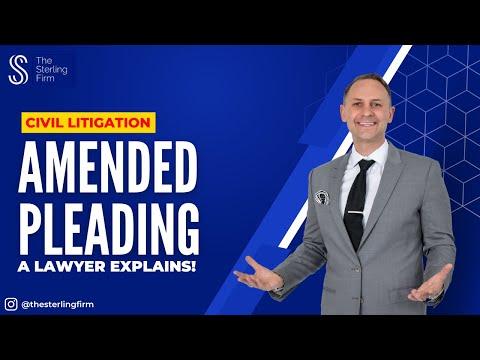 Draftings, Pleadings Sample Lecture by Dev Sharma