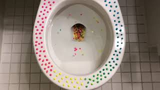 Will it Flush? - Polka Dot Candy Buttons