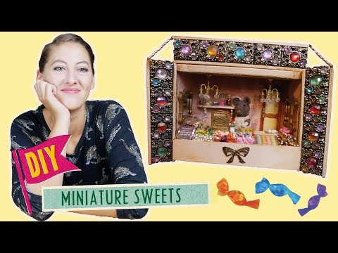 DIY Miniature Sweets | Mouse Mansion Tutorial