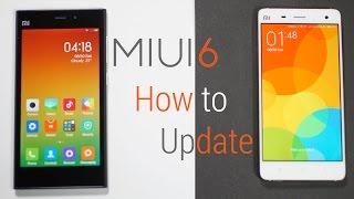 Xiaomi Mi3 / Mi4 - Official MIUI 6 - How to Update!