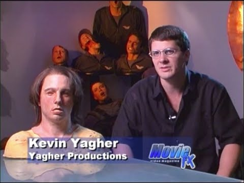 Kevin Yagher     Lifecast and Mask Creation  Movie FX Video Magazine
