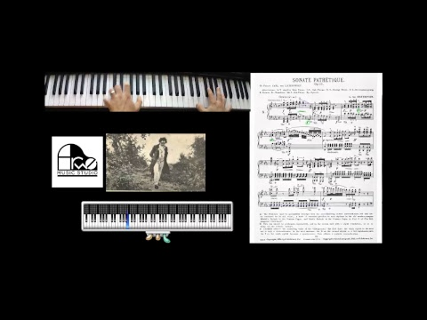 Daniel Ales - Pathetique Sonata (Practice Session 1)