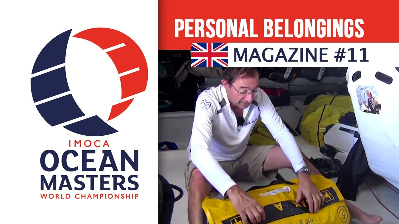 Personal belongings the skippers bring with them ? - Magazine 11 | Ocean Masters