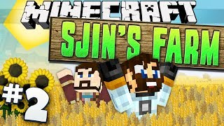 Minecraft - Sjins Farm #2 - Cluckles The Engineer