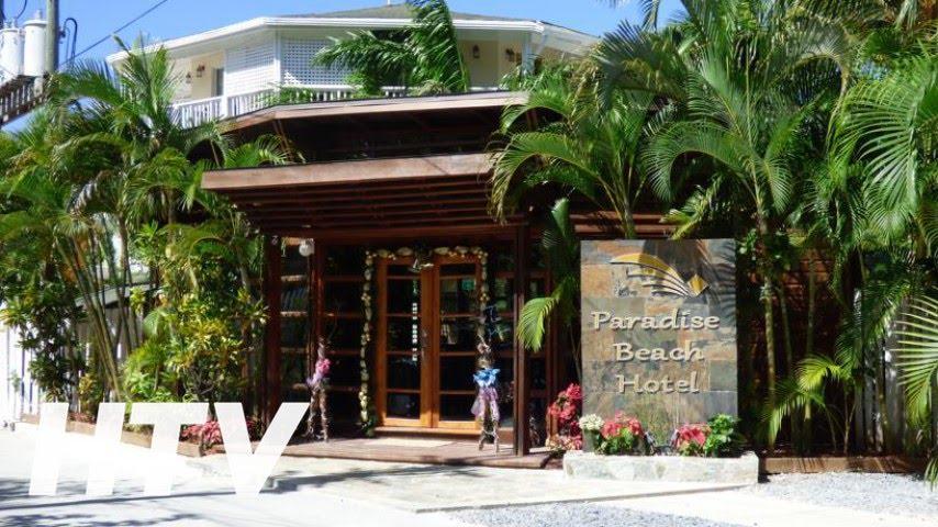 Paradise Beach Hotel En West Bay Honduras You
