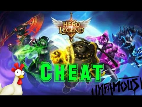 "Hero Legend | Pro/Cheat/Hack/Mod |""UNLIMITED"""