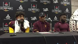 Herm Edwards, Manny Wilkins, Eno Benjamin on ASU loss to Fresno State 12/15/2018