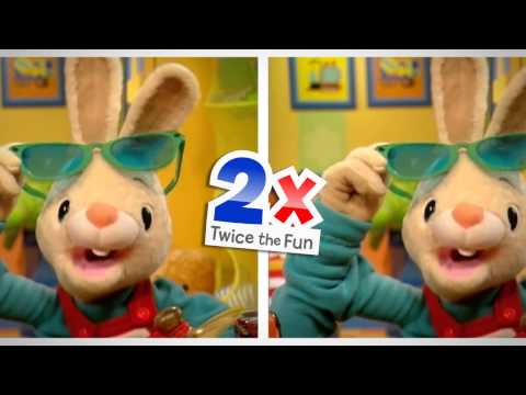 Baby First Twice The Fun | Harry the Bunny | BabyFirst TV from YouTube · Duration:  31 seconds