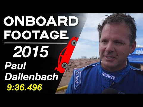 Paul Dallenbach - 2015 Pikes Peak International Hill Climb - PPIHC