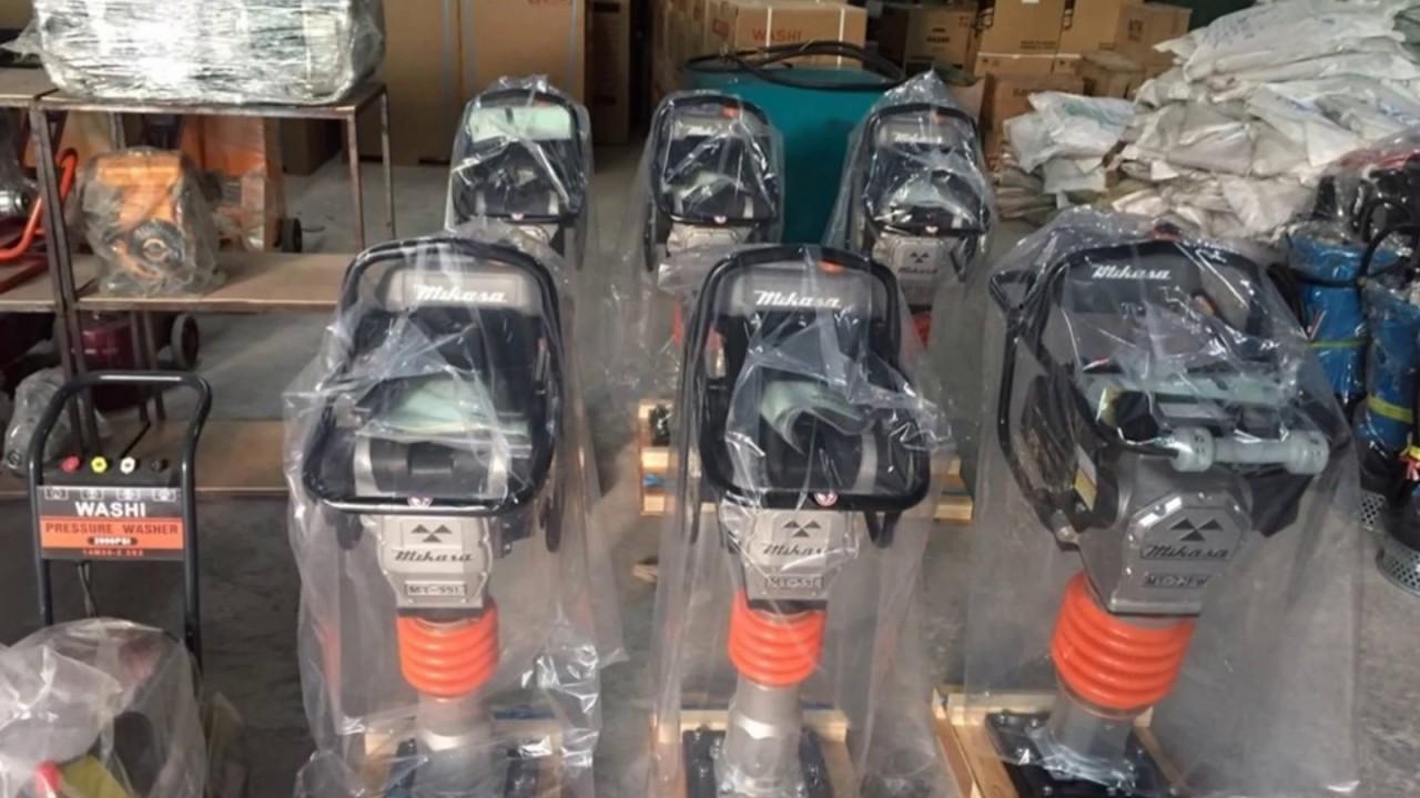 Giá máy đầm cóc Mikasa MT55, MT72, đầm cóc cũ, sửa chữa ...phụ kiện máy đầm cóc