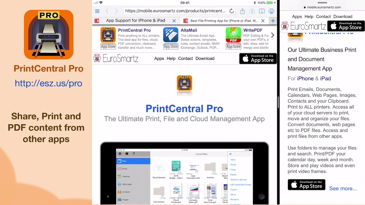 Best File Printing App for iPhone or iPad  World's #1 Print and File