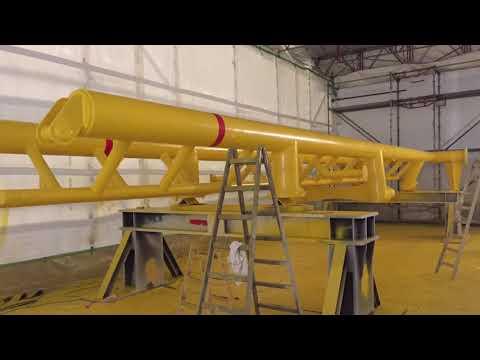 Offshore - Beschichtungsarbeiten - Sandstrahlen - Airless-Spritzen