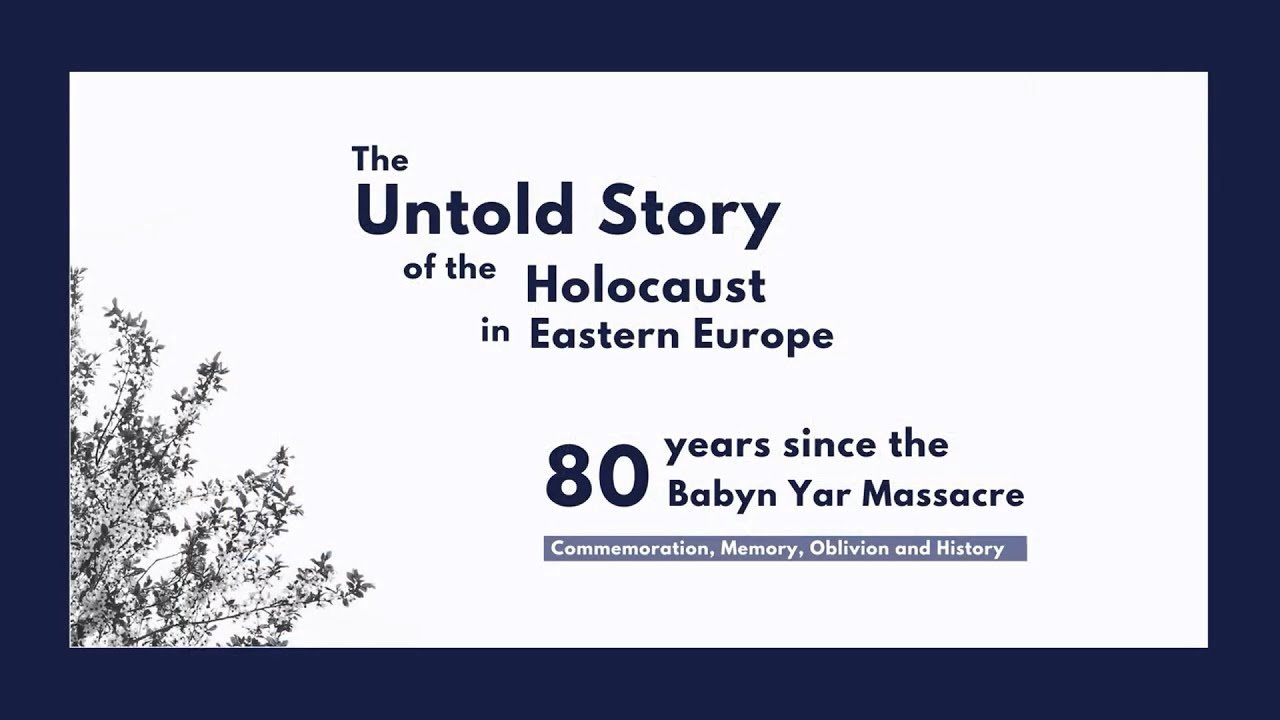 Special Seminar: The Untold Story of the Holocaust in Eastern Europe