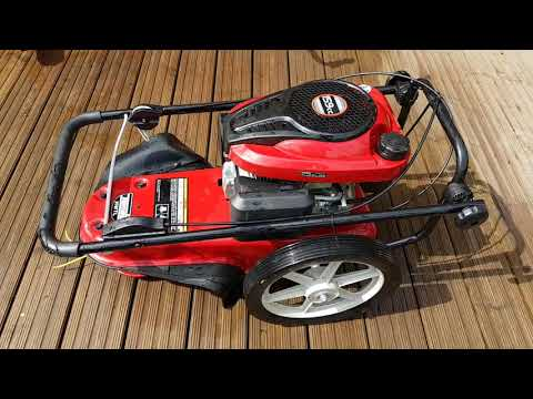 Reviewing the Tondu wheeled brush cutter / strimmer. Quality tool for a bargain price.
