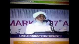 37th Markaz conference 2014   Kanthapuram usthad Speech at spiritual conference 1