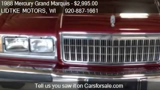 1988 Mercury Grand Marquis LS - for sale in BEAVER DAM, WI 5