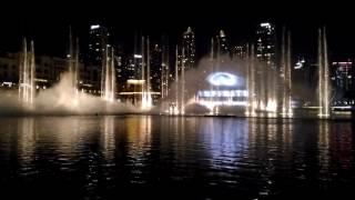Dubai Fountain & Infiniti Q50 14.12.2016 Рекламная акция Инфинити и Дубайского фонтана.