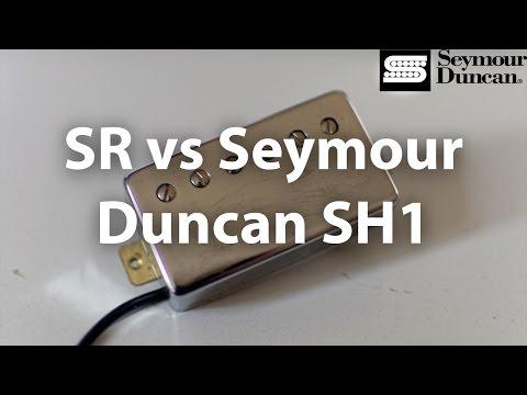 SR vs Seymour Duncan SH1 - Neck Pickup