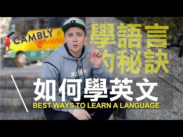 如何學英文!學語言的秘訣/最有效的方式!BEST way to Learn ENGLISH (4K) [小貝米漿 #192]