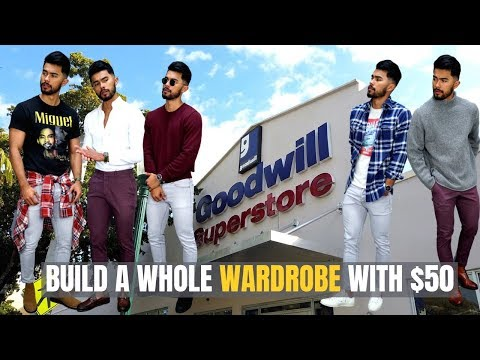 30 Stylish Outfits For ONLY $50 TOTAL!!   How To Build An ENTiRE Wardrobe For Under $50!