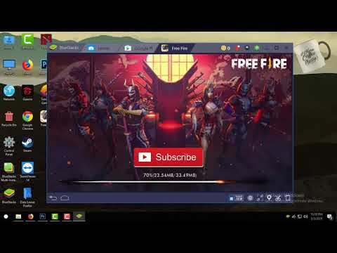 Cara Download Dan Instal Free Fire Di PC Atau Laptop Pake Emulator Bluestacks Versi 4 2019