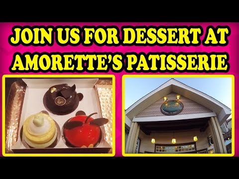 Mickey  Mousse Pastry at  Amorette's Patisserie in Disney Springs is AMAZING! Sweet Treats at Disney
