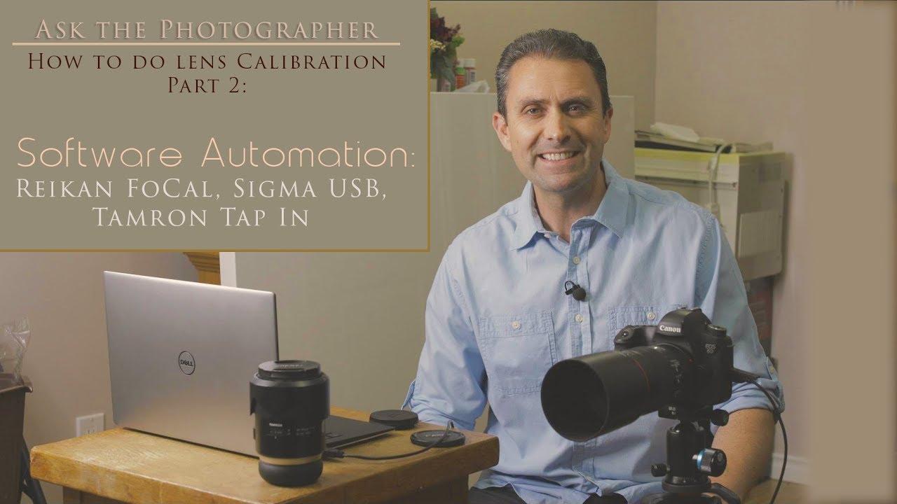 Atp How To Do Lens Calibration Part 2 Software Automation 4k Camera Parts Diagram Nikon Related Keywords