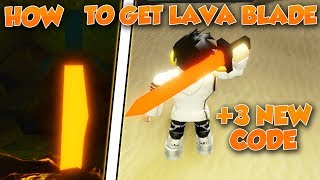 HOW TO GET LAVA BLADE + 3 NEW CODES IN TREASURE QUEST!!! (ROBLOX)