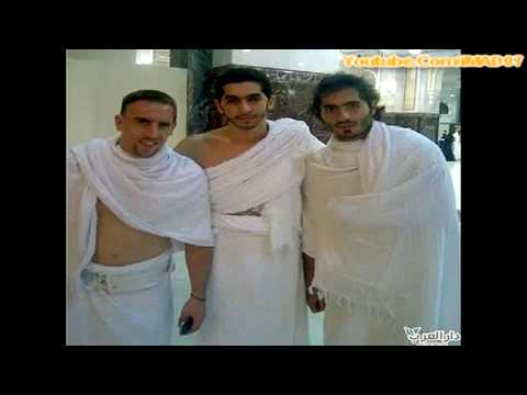 Nicolas Anelka and Frank Ribery Travel to Hajj