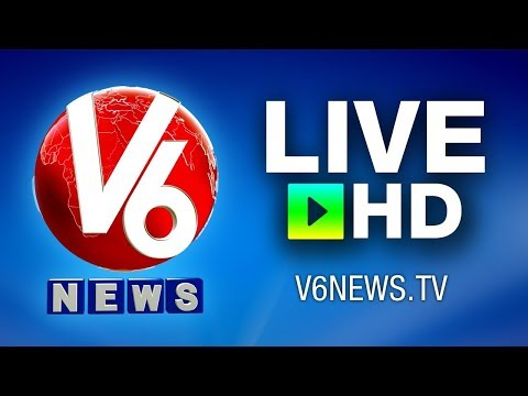 Telugu News Live by V6 - Telugu News Channel Live TV