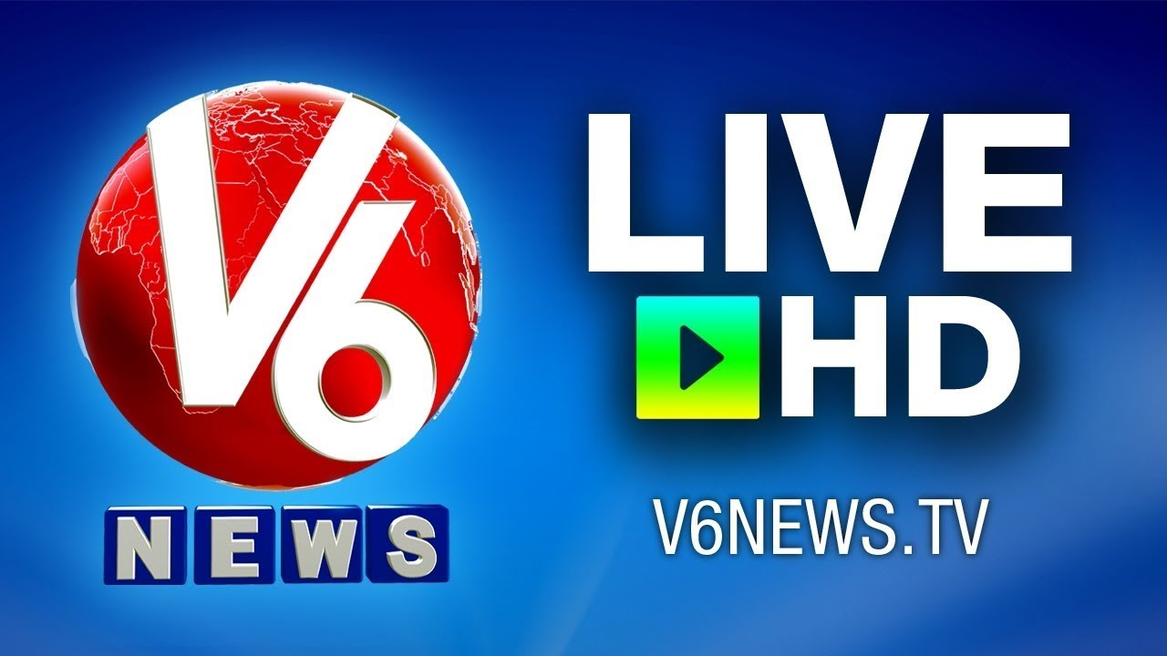 News: Telugu Live News By V6 News Channel