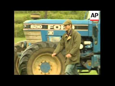 William hints at armed forces career as he tours farm