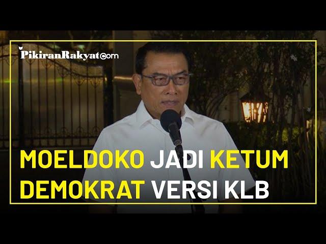 Resmi, Kongres Luar Biasa Partai Demokrat di Deli Serdang Tetapkan Moeldoko Jadi Ketua Umum