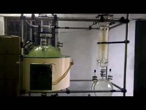 100Ltr - Simple Distillation Unit (SSDU) from Star Scientific Glass Co.