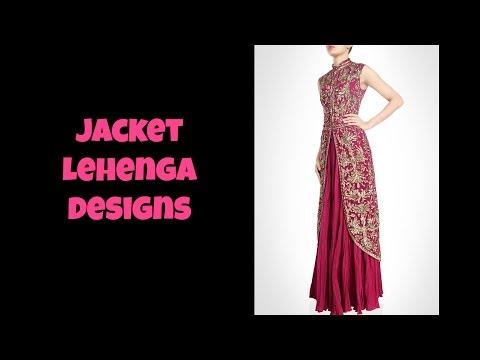 Jacket Lehenga Designs