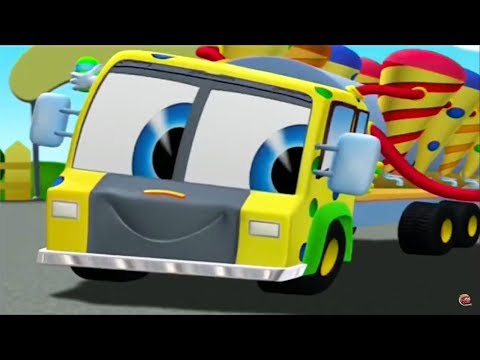 Finley The Fire Engine | Junk Oil Funk | Full Episode | Cartoons For Kids 🚒