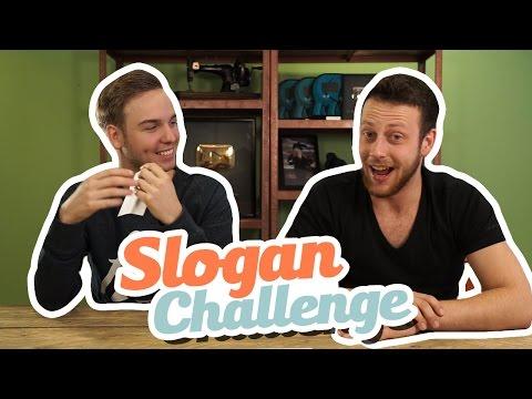 SLOGAN CHALLENGE!
