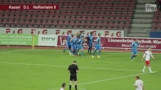 löwen.tv - KSV Hessen Kassel - 1899 Hoffenheim II - 2.10.13 (0:4)