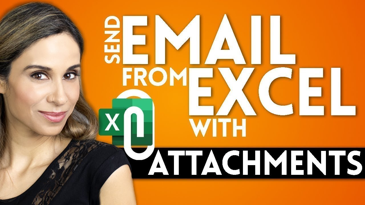 How to Send Emails from Excel with Attachments | Mail Merge the Smart Way!