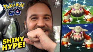 ALL ABOARD THE SHINY HEATRAN TRAIN! (More Pokemon Go Shiny Legendary Raids)